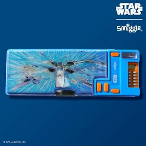 Smiggle Star Wars The Resistant Pop Out Pencil Case with Calculator X-Wing