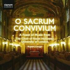 The Choir of Royal Holloway : O Sacrum Convivium (Gough, the Choir of Royal
