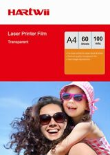 OHP Film A4 Clear  For Laser Printer Overhead Projector 297x 210mm- 60 Sheets