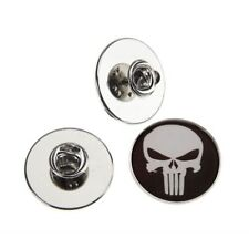 THE PUNISHER METAL PIN BADGE WITH 25mm LOGO