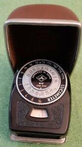 Vintage Cased AGFA Lucimeter ASA - BS l  Exposure Meter  Germany