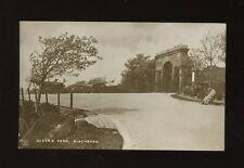 Lancashire Lancs BLACKBURN Queen's Park used c1920 RP PPC