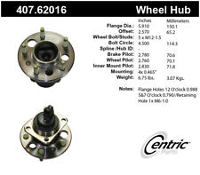 Wheel Bearing and Hub Assembly-Premium Hubs Rear Centric 407.62016