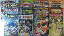 Sega's Sonic 16 comic lot 241-247 Sonic X, Shadow, Worlds Collide -Archie Comics