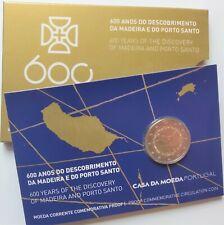 """Portogallo 2 euro 2019 """"isola di Madera"""" PP/Proof"""