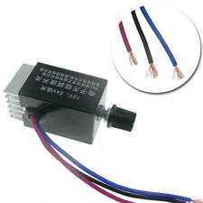 Us Dc 12v 24v 10a Motor For Car Truck Fan Heater Durable Speed Controller Switch