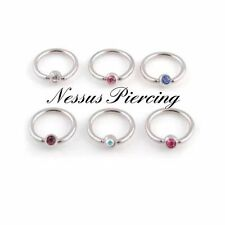 Unbranded Stone Ring Navel Piercing Jewellery
