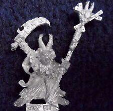 1993 Skaven Grey Seer 1 Chaos Ratmen Citadel Warhammer Screaming Bell Warlock GW