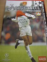 27/02/2002 Arsenal v Bayer Leverkusen [Champions League] . (Any noticable faults