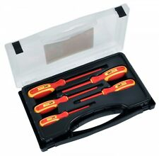 CK Tools Avit AV05050 1000 Volt Insulated Screwdriver Set 5 Pieces & Carry Case