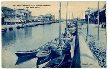 CPA 34 Herault Palavas-les-Flots Station Balnéaire Les deux rives animé bateaux