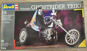 Revell 1:8 Triumph Ghostrider Trike Plastik - Modellbausatz, selten