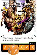 091 HAWKMAN World's Fiercest Attack -Uncommon- JUSTICE LEAGUE - DC Dice Masters