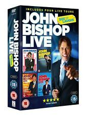 JOHN BISHOP - LIVE 4 DVD COLLECTION - BRAND NEW