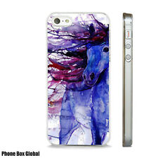 HORSE ABSTRACT ART STUNNING  CASE FITS IPHONE 4 4S 5 5S 5C 6 6S 7 8 SE PLUS X