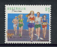 Australia 1989-94 SG#1192 $1 Sports, Fun Run Definitive MNH P14x14.5 #A77087