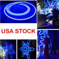 DC12V Flex Neon LED Rope Light Commercial Letter Sign Making Home Decor Blue