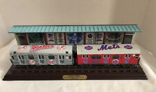 Danbury Mint 2000 MLB Subway Series Train NY Yankees  Mets Baseball Collectible