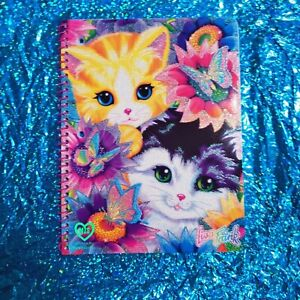 NEW Lisa Frank - Spiral Notebook - SUNFLOWER KITTENS - CATS 80 sheets