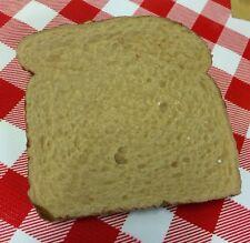 Realistic Artificial Faux Fake Food Replica Peanut Butter Bread Props #4B