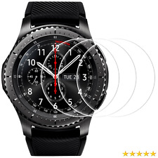 Screen Protector for Samsung Gear S3 Frontier and Classic, Perfect Fit,