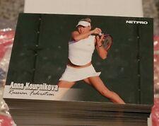 (25)  Anna Kournikova 2003 Netpro Tennis Card Lot # 10
