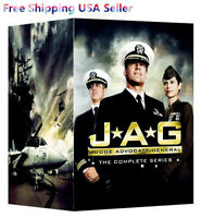 JAG THE COMPLETE TV SERIES Seasons 55-Disc DVD Box Set 1-10 Sealed New USA