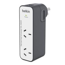 Belkin International Universal Travel Power Double Adapter+USB Charger AU EU UK