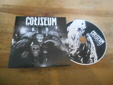 CD Metal Coliseum - House With A Curse (12 Song) Promo TEMPORARY RESIDENCE cb