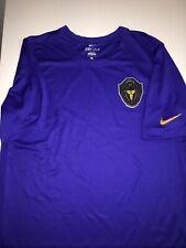 Kobe Bryant Nike Dri-Fit Blue T Shirt Black Mamba