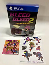 **RARE NEW* Bleed + Bleed 2 Limited Edition PS4 Sony Playstation 4 + Soundtrack