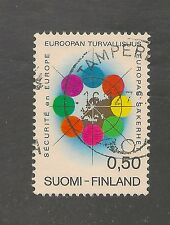 Finland #523 Vf Used - 1973 80p European Security And Cooperation