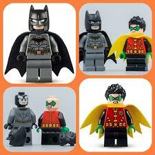 LEGO DC Batman & Robin Minifigures split from 76159 Joker's Trike Chase: New