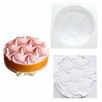 Baking Cake Mold DIY 3D Flowers Shape Mousse Fondant Decorating Tools Silicone