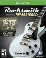 RockSmith Remastered 2014 Edition Game Bundle w/ Real Tone Guitar Cable XBOX ONE