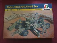 Bofors 40mm Anti Aircraft Gun - SCALA 1/35 Italeri