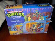 Teenage Mutant Ninja Turtles TMNT Sewer Play Set in Box 1989
