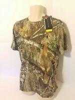 Under Armour Mens Threadborne Camo T Shirt Tee Realtree Edge  XL Camoflauge