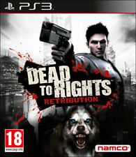 DEAD TO RIGHTS RETRIBUTION GIOCO PS3 NUOVO ITALIANO PS3