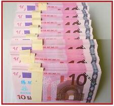 PRECIOSA REPLICA DE BILLETE DE 10 EUROS / GRAN CALIDAD - NUEVO PLANCHA OFERTA //