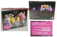 S.H.E SHE SHERO 2010 Taiwan CD +Music Video DVD (Ver.A)