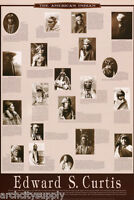 POSTER : THE AMERICAN INDIAN by EDWARD S. CURTIS  FREE SHIPPING ! #1345   RW5 V