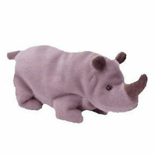 Ty Beanie Baby Spike The Rhinoceros 5th Generation Hang Tag 1996