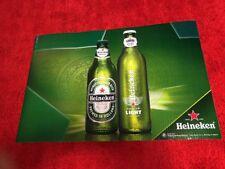 New listing heineken light amstel beer banner sign bar game room