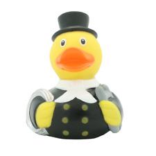 Schornsteinfegerente weiß  Quietscheente Gummiente Badeente Ente Spielzeug