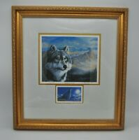 Tom T Morgan Crain Magnificence on Prowl Limited Edition Wolf Signed Art Print