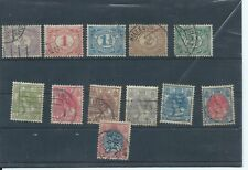 Netherlands stamps. A few of the 1898 series used The 25c is a perfin R&C (C072)
