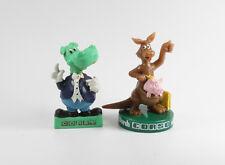 CORSO === 2 x Werbefiguren Känguru / Nilpferd Reklame Tiere Figuren