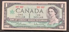 Lot of 100 x 1967 Canada Confederation $1 Banknotes