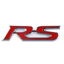 RS Bumper / Trunk / Fender / Hood 3D Logo Emblem Decal Badge Sticker Symbol